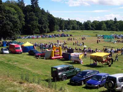 Cortachy Castle Show Grounds